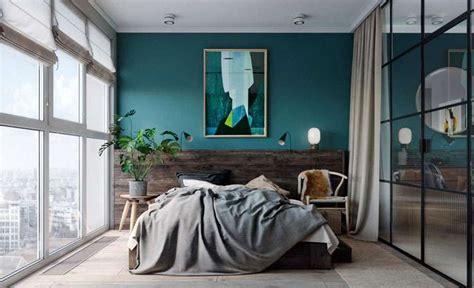 chambre bleu canard lumineuse super deco