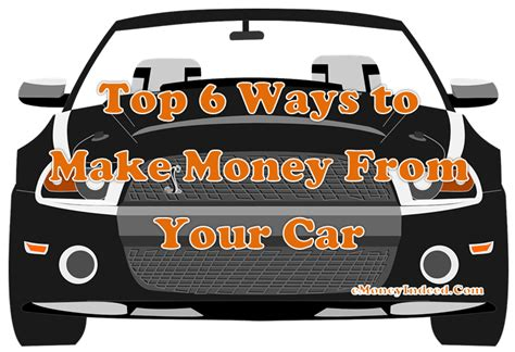 Is There Really A Way To Make Money Online - top 6 ways to make money from your car emoneyindeed