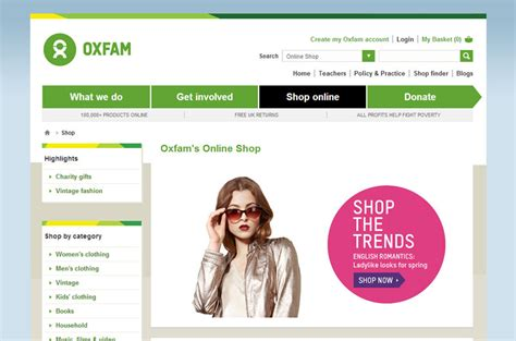 Ebay And Oxfam Team Up For And The City Charity Auction by Charity Shops