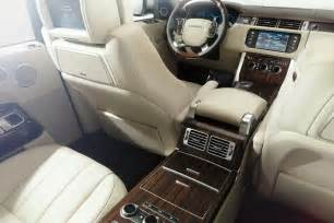 new land rover interior new 2013 range rover price starts at 83 500 in the u s