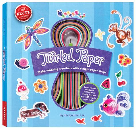 Klutz Origami - klutz twirled paper