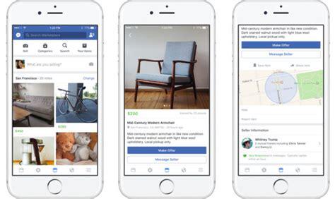 Facebook Lance Marketplace Pour Acheter Et Vendre Des