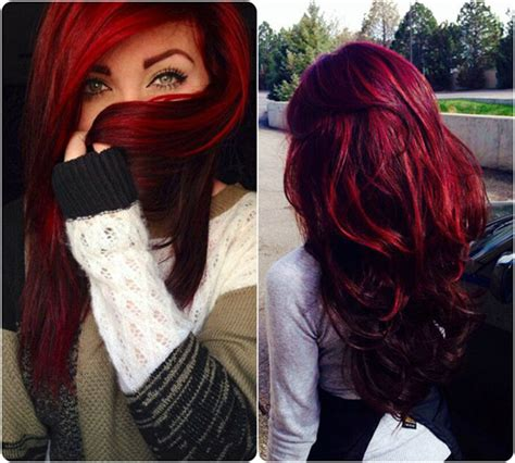 pictures of different hairstyles and colors pin different red hair color shades on pinterest