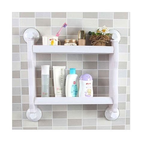 Tempat Sabun Dan Sponge Gantung Kamar Mandi Dapur Hkn036 0dkk starhome rak sabun kamar mandi tempat sabun kamar mandi serbaguna 2 tingkat panjang putih