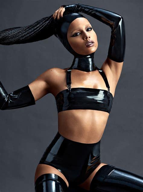 most stylish celebrities of 2015 complex zoe kravitz channels dominatrix for sexy complex photo