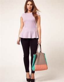 springmonthoftops fashion for plus size women