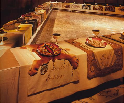 judy chicago the dinner 1979 units at of missouri columbia studyblue