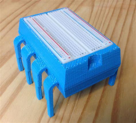 3d printed resistor storage 8 pin dip plastic storage box breadboard holder from elproducts on tindie
