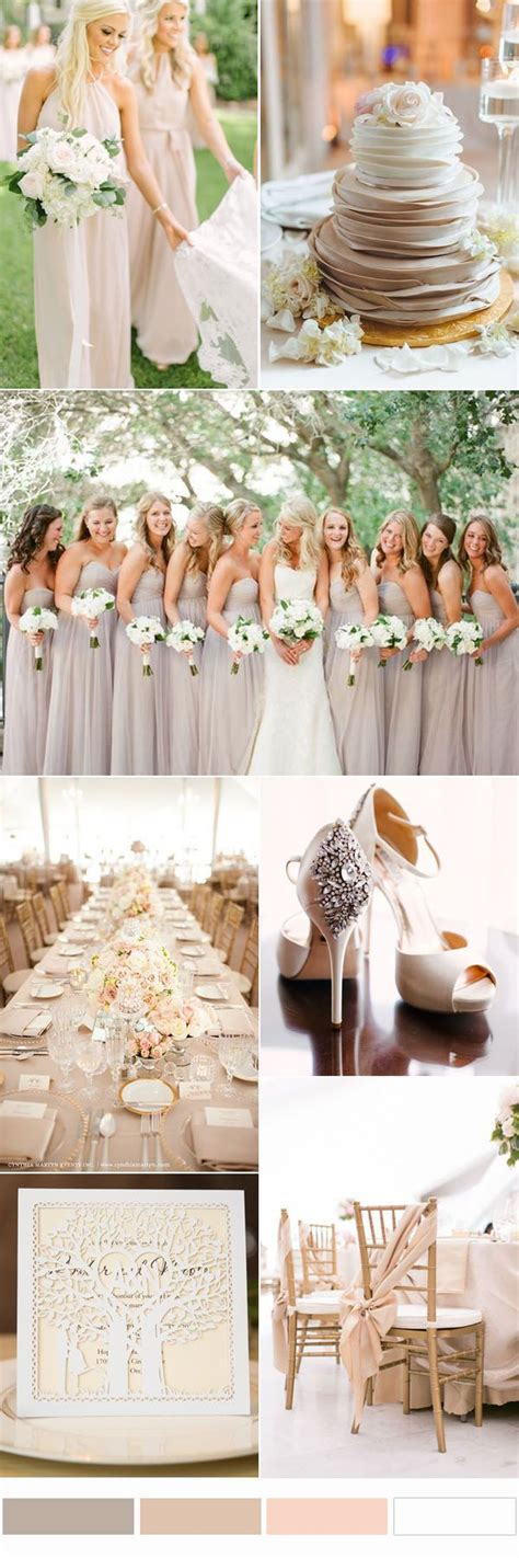 neutral wedding colors best 25 color palettes ideas on brown