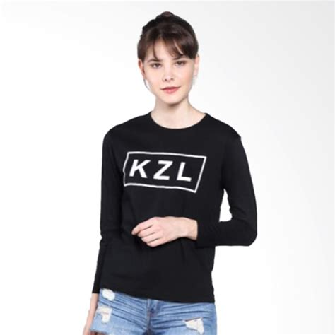 T Shirt Kaos Wanita Stay Simple jual kzl t shirt kaos wanita lengan panjang