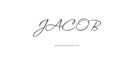 tattoo name jacob jacob name tattoo designs