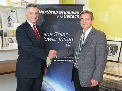 Northrop Grumman Engineer Mba by Caltech Electrical Engineering News Space Solar Power