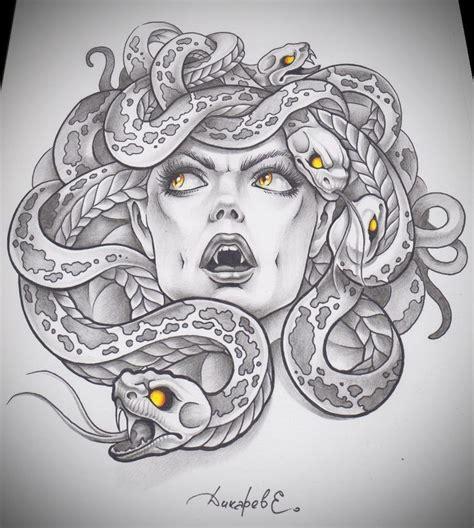 medusa head tattoo design 25 best ideas about medusa drawing on medusa