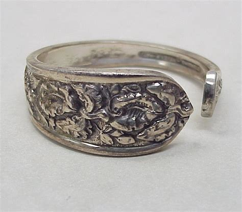 sterling silver napkin ring by stieff from arnoldjewelers