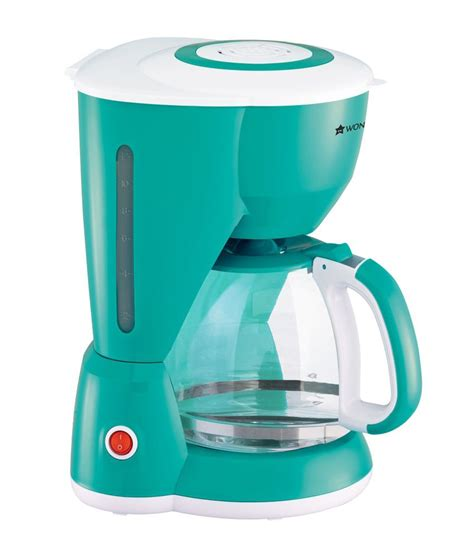 D Green Coffe 1 wonderchef regalia coffee maker 1 4ltrs green price in