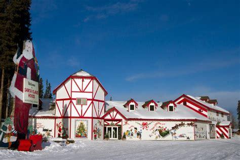 santa claus house north pole ak christmas year round towns gac