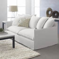 Modern Slipcover Sofa Sofa Style 20 Chic Seating Ideas