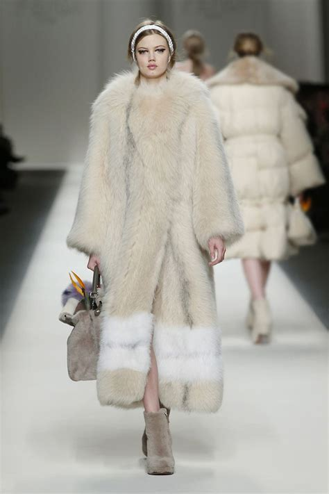 Who Wore It Better Fendi Fur Coat by Fendi Haute Fur Couture 2 Other New Fashion Lines The