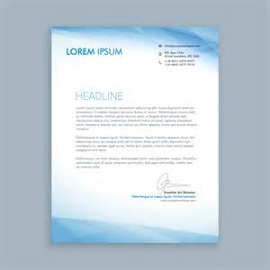 Business Letters Download business letter with blue shapes vector free download