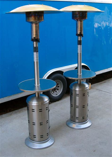Patio Umbrella Heater Umbrella Pole Patio Heater The Umbrella Patio Heater
