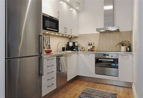Ideas For A Small Kitchen Space by 20 Spacious Small Kitchen Ideas