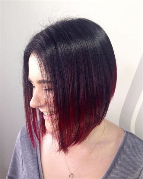 ombre inverted bob razored inverted bob hairstylegalleries com