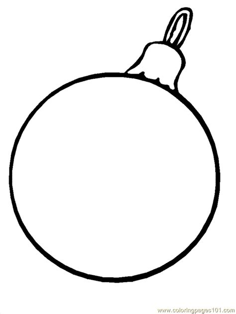 Free Christmas Ornament Coloring Pages Coloring Home Ornaments To Color