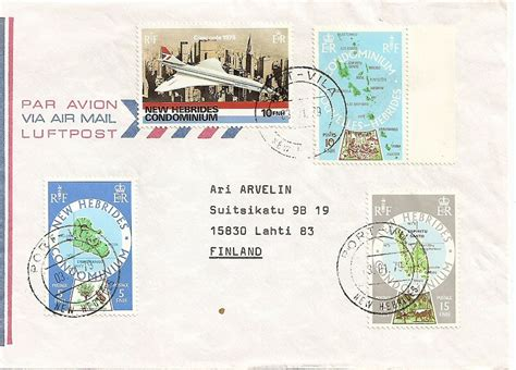 new year january 1979 the new hebrides postal history sts