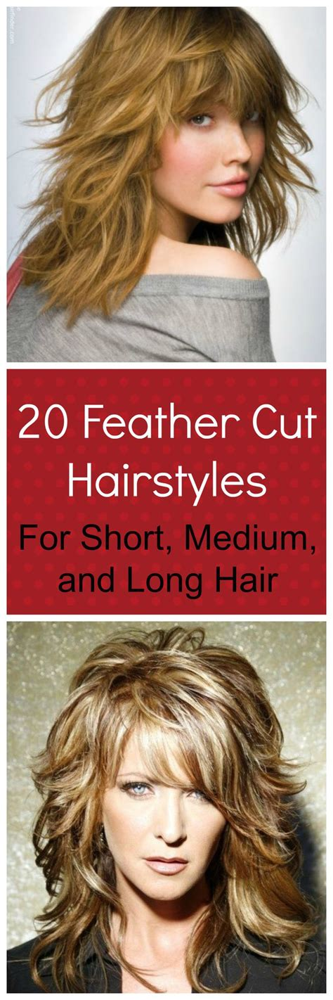 hair shoulder length feathered high crown 20 feather cut hairstyles for long medium and short hair