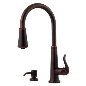 pfister kitchen faucet faucet gt529 ypu in rustic bronze by pfister