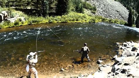 fly fishing colorado s blue river colorado fly fishing part two