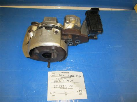 volkswagen turbocharger turbo charger gt1852vk used