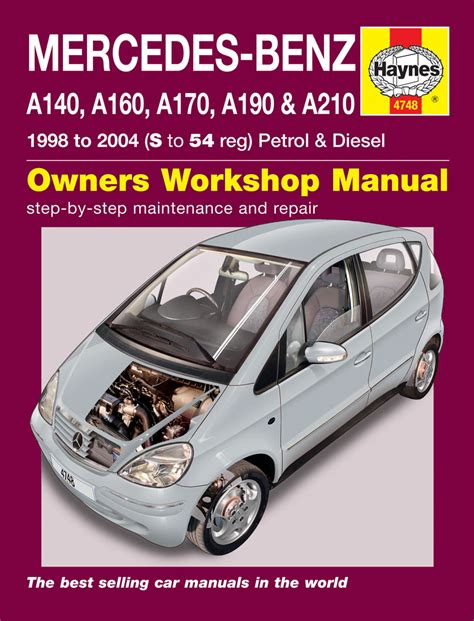 car service manuals pdf 1988 mercedes benz e class engine control mercedes benz a class petrol diesel 98 04 s to 54 haynes publishing