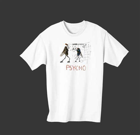 Tshirt Psycho men s psycho t shirt fly town population 6 000 000 000 000 000 000