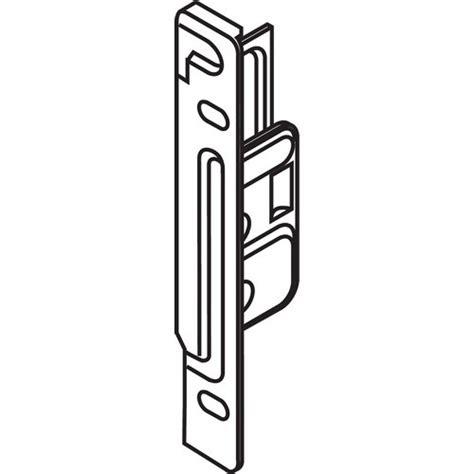 Blum Zsf 1700 Metabox Right Hand Front Fixing Bracket