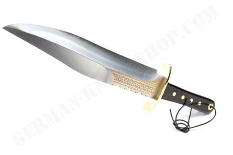 collectors knife linder yukon bowie collectors knife gold etchings german