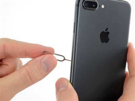 iphone 7 plus sim card replacement ifixit repair guide