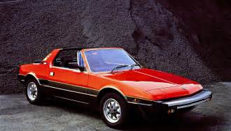 1982 Fiat X19 1982 Fiat X1 9 Information And Photos Momentcar
