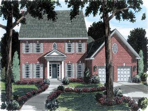 Brick Colonial House Plans | brick colonial house plans new england colonial house