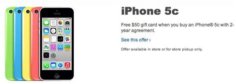 Best Buys Ipod Gift Set For by Best Buy Knocks 50 Iphone 5c Pricing Just Two Weeks