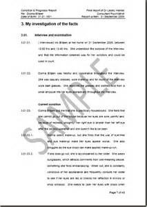 Interview Report Sample Shrinkwork Independent Psychiatrist And Expert Witness
