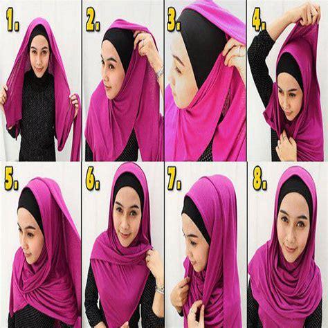 tutorial hijab pashmina simple tanpa menggunakan jarum tutorial hijab pashmina simple tanpa ninja jarum untuk
