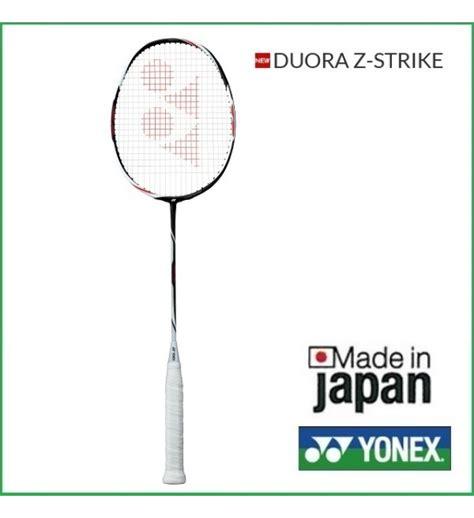Raket Yonex Duora Z Strike yonex duora z strike badminton racket black white