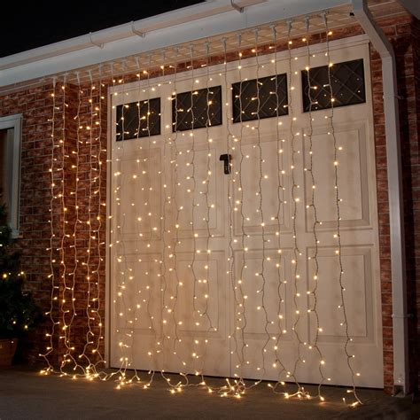 outdoor curtain lights 2m x 2 5m outdoor curtain lights connectable 500 leds