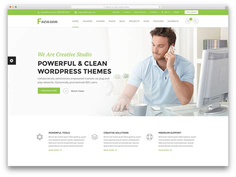 50 Best Wordpress Corporate Business Themes Of 2018 Colorlib Business Website Templates Free