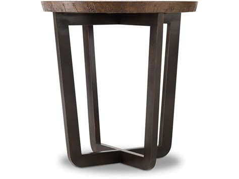 round accent tables for living room hooker furniture living room parkcrest round end table