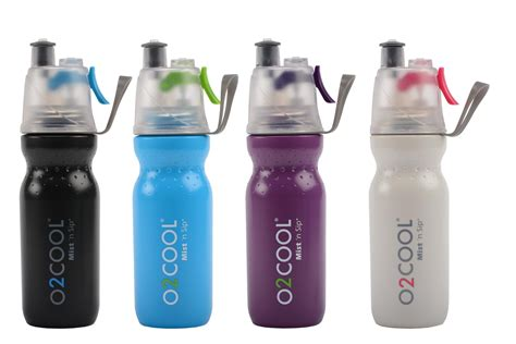 O2Cool 6 Pack ArcticSqueeze Classic 20 Ounce Mist 'N Sip