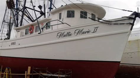 boats for sale in outer banks nc shrimp trawler 125000 boats for sale outer banks