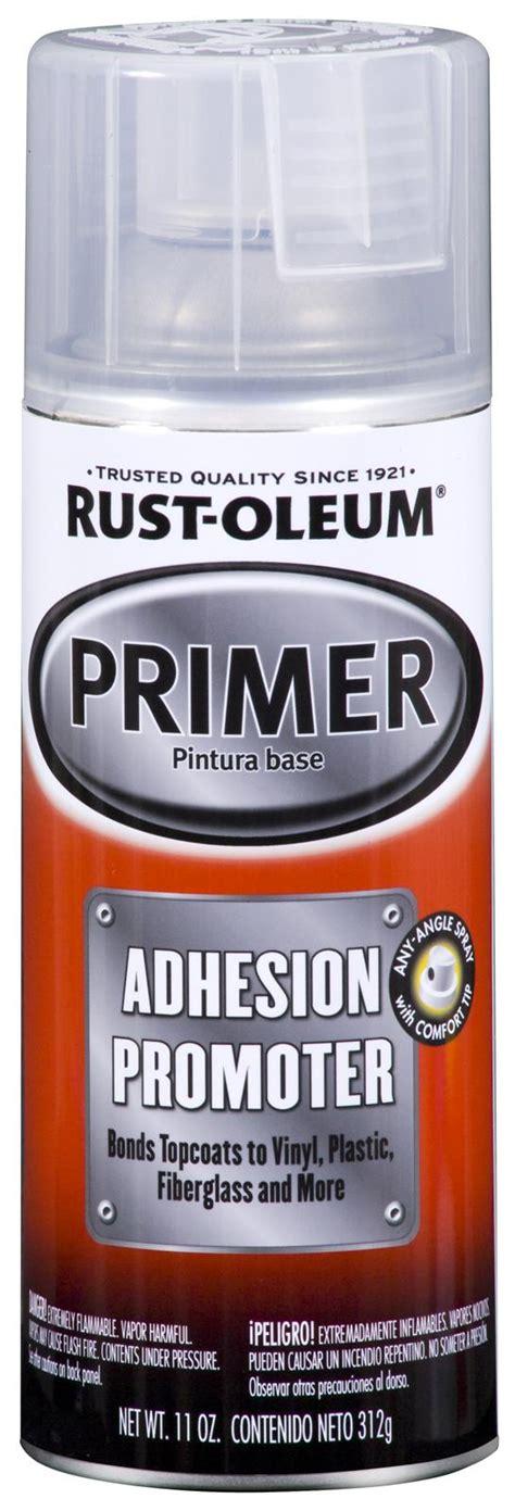 rust oleum primer paint adhesion promoter flat clear aerosol 11 oz ea 251572 ebay