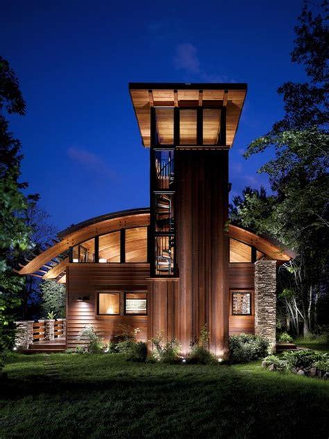 Stoner Bedroom Ideas modern cabin with stone pillars rustic exterior